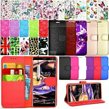 For Nokia 7+ Plus 2018 - Wallet Leather Case Flip Cover Book + Screen Protector