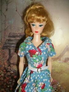 HMR SHIRTWAIST DRESS for Vintage  Barbie & Silkstone