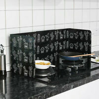 Folding Kitchen Cooking Oil Splash Screen Cover Anti Splatter Stove Shield Guard