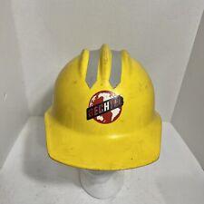 Vintage Yellow Bullard Bechtel 303 302 Hard Boiled Hard Hat