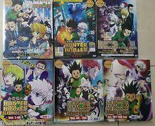 DVD HUNTER X HUNTER Complete Season 1&2 (1-92+OVA)&(1-148)+2Movie DHL ExpressUSA