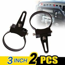 "WOW - 2 X Bullbar Mounting Bracket Clamp 3"" for Work Light Bar HID ARB TJM Mount"