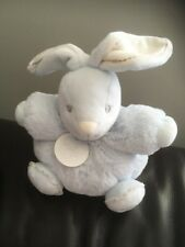 Kaloo blue small chubby Bunny Rabbit Soft Toy Cuddly comforter lapin doudou HASE