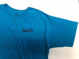 Hang Ten Men's Graphic T-Shirt - Turquoise - Size: Varies      -   G-5