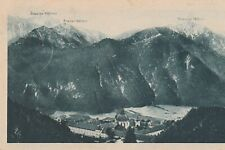 Kloster Ettal Zugspitze Kramer Notspitze gl1927 B9203