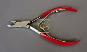 Cuticle Nippers Double Spring Half Jaw