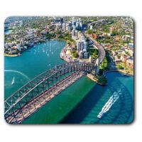 Computer Mouse Mat - Sydney Harbour Bridge Australia Office Gift #16291