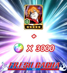 Bleach Brave Souls BBS Global Fresh Accounts New Ichigo Artwork and 3000 Orbs