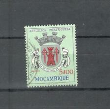 N°474 - MOZAMBICO 1961 - MAZZETTA DI 5 STEMMI - VEDI FOTO