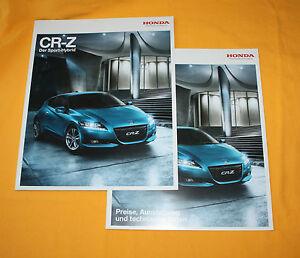 Honda CR-Z 2010 Prospekt Brochure Depliant Catalog Broschyr Folder Prospetto (2)