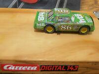 """Carrera Digital 143 """"Chick Hicks"""" Die Stars aus CARS 1  Einzelstück"""