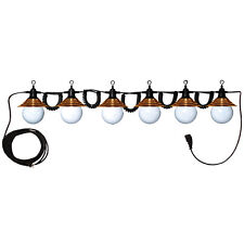 Globe Light with Copper Shade Party Light Tent Light [Stlight6Globeco]