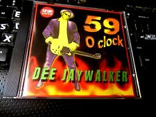59 O'Clock by Dee Jaywalker (CD 2010 Nicotine) Greyhound Dogs Definitivos punk