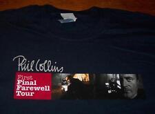 PHIL COLLINS FIRST FINAL FAREWELL TOUR CONCERT T-Shirt XL NEW