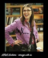 Autographed 8x10 Photo - Mayim Bialik - Big Bang Theory/Blossom - JSA Certified