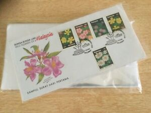 First Day Cover Protector Plastic Bag. 115mm X 230mm 100pcs