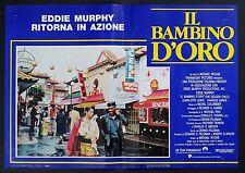 FOTOBUSTA 3, IL BAMBINO D'ORO The Golden Child EDDIE MURPHY, RITCHIE POSTER