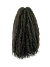 Cyberloxshop Marley BRAID Afro Kinky Capelli # 4 MARRONE SCURO punta
