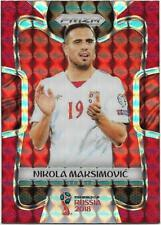 2018 Panini FIFA World Cup Red Mosaic Prizm (186) Nikola MAKSIMOVIC Serbia