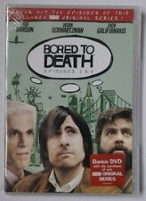 BORED TO DEATH EPISODES 2 & 6 DVD 2010 SEALED BRAND NEW HBO WARNER HOME VIDEO