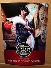 New Miss Fisher's Murder Mysteries Licensed Series 1 Costume Catalogue ~ RARE