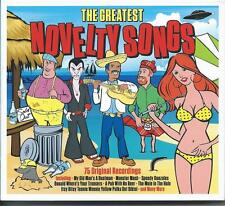 The Greatest Novelty Songs - 75 Original Recordings (3CD 2015) NEW/SEALED