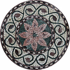 Shaped Medallion Marble Mosaic IN132