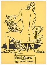 Anton Refregier original lithograph