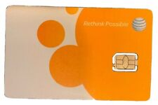 At&T 4Ff Nano Sim Card Unused Never Activated