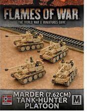 Flames of War - WW II Game - Afrika Korps Marder Tank-hunter Platoon