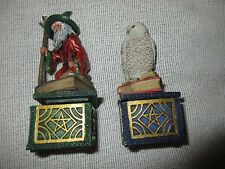 Nemesis Now Owl & Wizard Trinket Wishing Box Lot