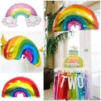 Rainbow Balloons Smile Cloud Perfect Party Chic Simple Foil Balloons Party Decor