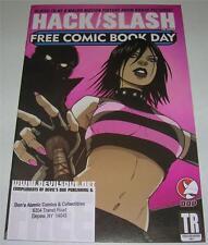 FREE COMIC BOOK DAY HACK / SLASH (DDP 2007) FAMILY GUY! Store Stamp (FN+) RARE!