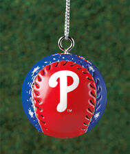 PHILADELPHIA PHILLIES LICENSED HANGING MINI BASEBALL ORNAMENT~ GIFT IDEA ~ NEW
