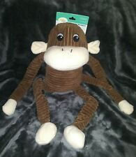 *NEW* Zippy Paws 21' Spencer The Crinkle Monkey 🐒 Squeaky Toy For Dogs