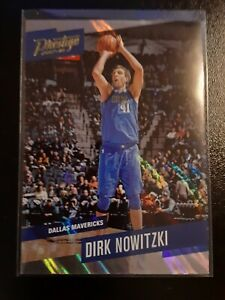 Dirk Nowitzki #76 2017-18 Panini Prestige Mist Parallel