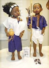 "VTG Gotz Philip Heath 24""- 1992 -World of Children Series Yoromong & Ami"