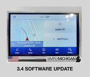 Ford Sync 3 APIM 3.4 Update Add-On (READ DESCRIPTION)