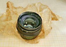 "Lens ""Jupiter-8 2/50"" (black).Ussr. New!"