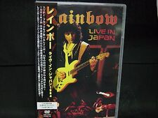 RAINBOW Live In Japan 1984 JAPAN DVD Deep Purple Yngwie J Malmsteen B.O.C.