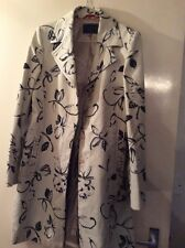 Ladies Size 14  Classic Floral Design Coat Made By Coast London