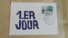 Carte 1er jour Monaco - Organisation Mondiale de la Santé - 12/12/1966