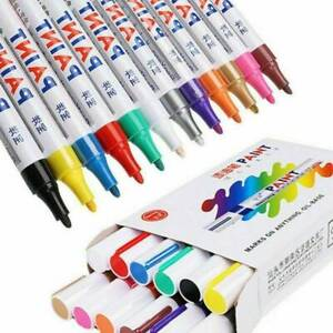 3.0mm Waterproof Oil-Based Permanent Paint Marker Pen For Car Tyre Tire Tread UK