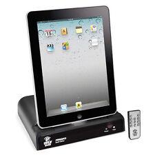 Pyle PIPADK2 Universal iPod/ipad/iPhone Docking Station & Remote control