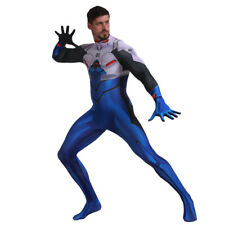 US! EVA Ikari Shinji #1 Men Halloween Cosplay Costume Fancy Tight Jumpsuit