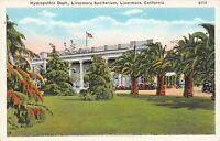 Hydropathic Dept., Livermore Sanitarium, Livermore, California, early postcard