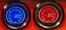 60 mm Evo coche Boost Gauge 2 Psi rojo y azul Display LCD Digital