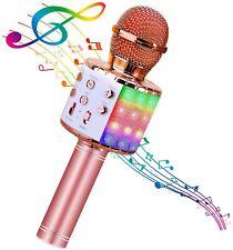 More details for usb karaoke machine singing microphone speaker recorder bluetooth wireless ktv