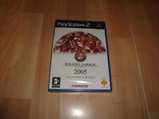 ROLAND GARROS 2005 POWERED BY SMASH COURT TENNIS PARA SONY PS2 NUEVO PRECINTADO