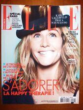 Magazine ELLE mode fashion #3544 29 novembre 2013 Cecile de France
